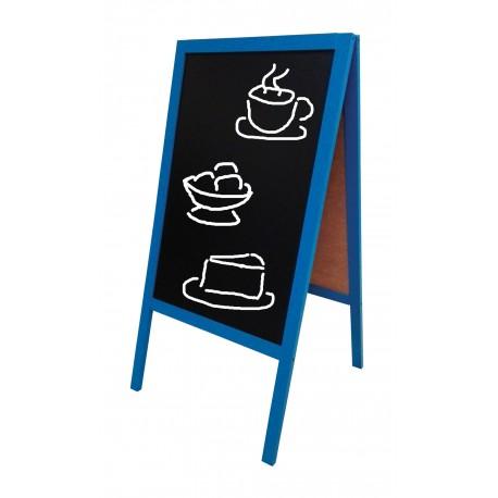 Potykacz Kredowy Niebieski 53 x 80 cm