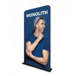 Ścianka tekstylna Monolit 80 x 238 cm z wydrukiem