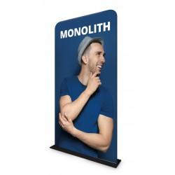Ścianka tekstylna Monolith 90 x 238 cm z wydrukiem