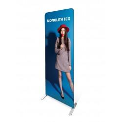 Ścianka tekstylna Monolit Eco 100 x 220 cm z wydrukiem