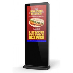 Totem Free-standing Digital Display