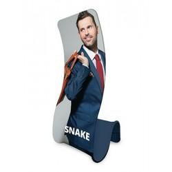 Ścianka tekstylna Snake z wydrukiem